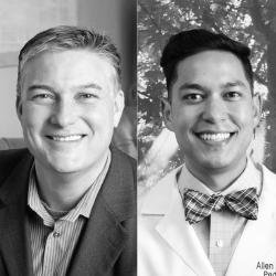 Dr. Erik Harrington and Dr. Allen Rapolla